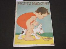 1916 AUGUST MCCALL'S MAGAZINE - FASHION ILLUSTRATIONS - CUT OUT PAGE - ST 145