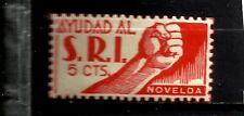 1929-SELLO GUERRA CIVIL S.R.I NOVELDA ALICANTE 5 CTS *