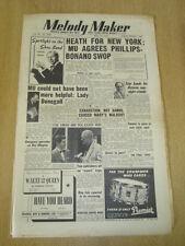 MELODY MAKER 1953 MAY 16 TED HEATH  ED MCKENZIE RAY ELLINGTON NAT KING COLE
