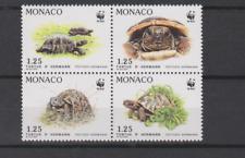 MONACO BLOC DE 4 N** YT 1805/1808  TORTUES D'HERMANN  WWF