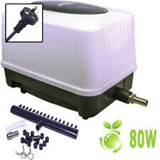 Hopar Aquarium Fish Tank Pond Oxygen Air Lab Pump Aqua Blower 110L/Min ECO 80W