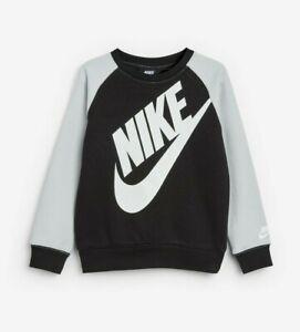 NIKE Kids Futura Logo Sweatshirt Boys OTH Jumper Size 6-7 Years 116-122cm New
