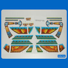* PLAYMOBIL 4241 * EGYPTIAN ROYAL SHIP OF EGYPT - STICKER SET * FREE UK P&P *