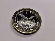 Falkland Islands 2014 Battle of Falkland Island Two Pound Coin £2 BU