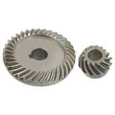 Angle Grinder Spare Part Tapered Bevel Gear Set for LG Silver Metal S4Z3