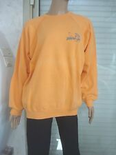 "SWEAT  MOLLETONNE DE MARQUE ""HANNES  ORANGE T M/L T 42/44 OU16 ANS"