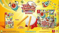 Taiko no Tatsujin: Drum 'n' Fun! Edición Coleccionista Nintendo Switch Con Tambor