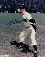 Gil McDougald Signed 8X10 Photo Autograph New York Yankees Auto w/COA