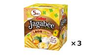 Calbee Jagabee Potatoes butter taste 80g x 3pcs