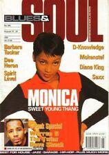 Monica on Blues & Soul Magazine Cover 1995   Warren G    Towa Tei   Spirit Level