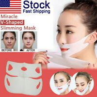 2019 Miracle V-Shaped Slimming Mask Face Care Slimming Mask (1/2/4 Pieces/Set)