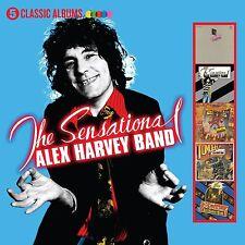 THE SENSATIONAL ALEX HARVEY BAND 5 CLASSIC ALBUMS 5CD ALBUM SET (2017)