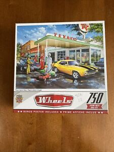 Wheels Pop's Quick Stop 750 Piece Jigsaw Puzzle Gas Station Mustang Camaro 60783