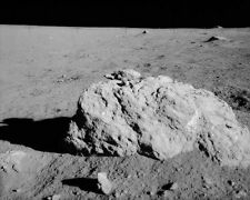 Apollo 14 Turtle Stein On Moon Oberfläche Nasa 8x10 Silber Halogen Fotodruck
