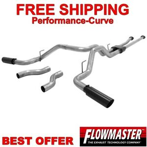 Flowmaster Outlaw Exhaust System fits 09-19 Toyota Tundra 5.7L - 817692
