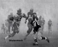 CFL 1962 Fog Bowl Grey Cup Blue Bombers MVP Leo Lewis Game Action 8 X 10 Photo