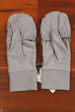 NWT Lululemon Run Fast Gloves Gray Mittens Reflective D Chrome Medium/Large $38