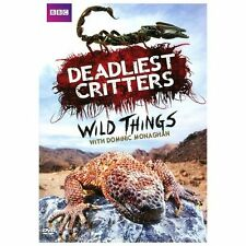 BBC Deadliest Critters Wild Things with Dominic Monaghan Nature Documentary DVD
