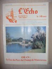 Algérie, Oran: Revue L'Echo de l'Oranie, N° 201: 03-04/1989, BE