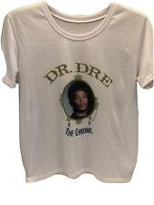 2010 Dr. Dre Death Row Records The Chronic White T-Shirt Medium Men's Rap