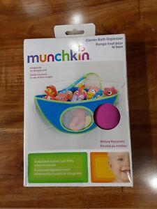 #J) Munchkin Corner Bath Organizer - Pink