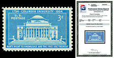 Scott 1029 1954 3c Columbia Issue Mint Graded Superb 98 NH with PSE Certificate!