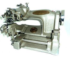 Antique STROBEL 44 Blind stitch sewing machine hemmer industrial chainstitch hem