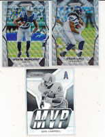 3Pc Lot - 2017 Prizm Wave MONCRIEF & LACY & MVP  Insert CAMPBELL