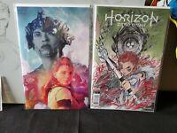 HORIZON ZERO DAWN #1 NM/M COVER H 1:25 + Peach Momoko Variant