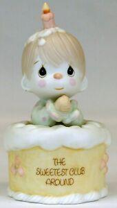 Precious Moments 'The Sweetest Club Around' Figurine   1988   USED