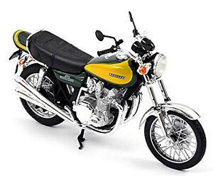 Kawasaki Z900 1973 Vert Foncé + Jaune Vert Sombre + Yellow 1:18 Norev 182030