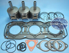 NEW POLARIS 600 TRIPLE PISTONS TOP END GASKET KIT 1995-2000 95-00 XC XCR XLT SP