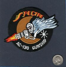 AC-130 HERCULES SPECTRE GUNSHIP USAF Lockheed Special Operations Squadron Patch