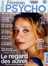 Mag 2005: SYLVIE TESTUD