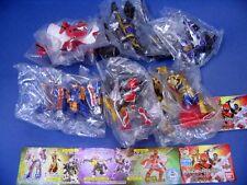 Bandai Power Rangers Mahou Sentai Magiranger Mystic Force Gashapon Figure Set.