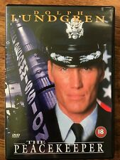 Dolph Lundgren THE PEACEKEEPER ~ 1997 Political Action Thriller UK DVD