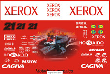 Cagiva Xerox 2007 decal set