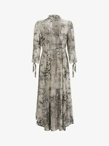 MINT VELVET Sacha Print Shirt Maxi Dress Size 18 Rrp £119 *Brand New with Tags*