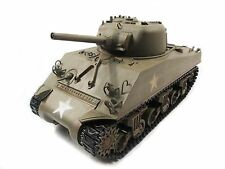 Complete Metal 1/16 Mato Sherman RTR Infrared Recoil RC Tank Army Green 1230