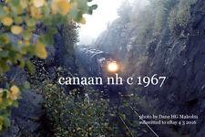 Boston & Maine 1506 1568 1516 freight BJ3 Orange cut near Canaan,NH c 1967 a