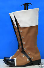 Tales of Vesperia Yuri Boots Cosplay Shoes Custom Made < Lotahk >