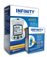 Infinity® Glucose Meter Kit With 50 Test Strips