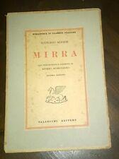 """Libri/Riviste/Giornali """" MIRRA """" Alfieri/Vallecchi"""