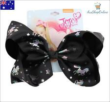 "BRAND NEW Jojo Siwa Large 8"" Unicorn Hair Bow Girls Hair Accessories"