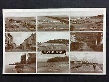 Vintage Postcard - Isle Of Wight #A9 - RP Ryde Multi View - Valentines