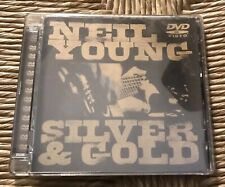 Neil Young - Silver And Gold (DVD, 2000) Wide Screen Rare Packaging Live Conc