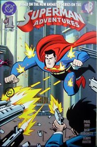 Superman Adventures Number 1 Original American DC