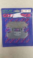 GOODRIDGE BRAKE PADS FRONT G40ST HONDA CBR1000 R/F 87-88 VFR700 RS125R
