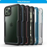 For MAXSHIELD iPhone 11 Pro Max Case Heavy Duty Shockproof Clear Slim Cover