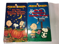 Lot Of 2 Peanuts Classic Films VHS